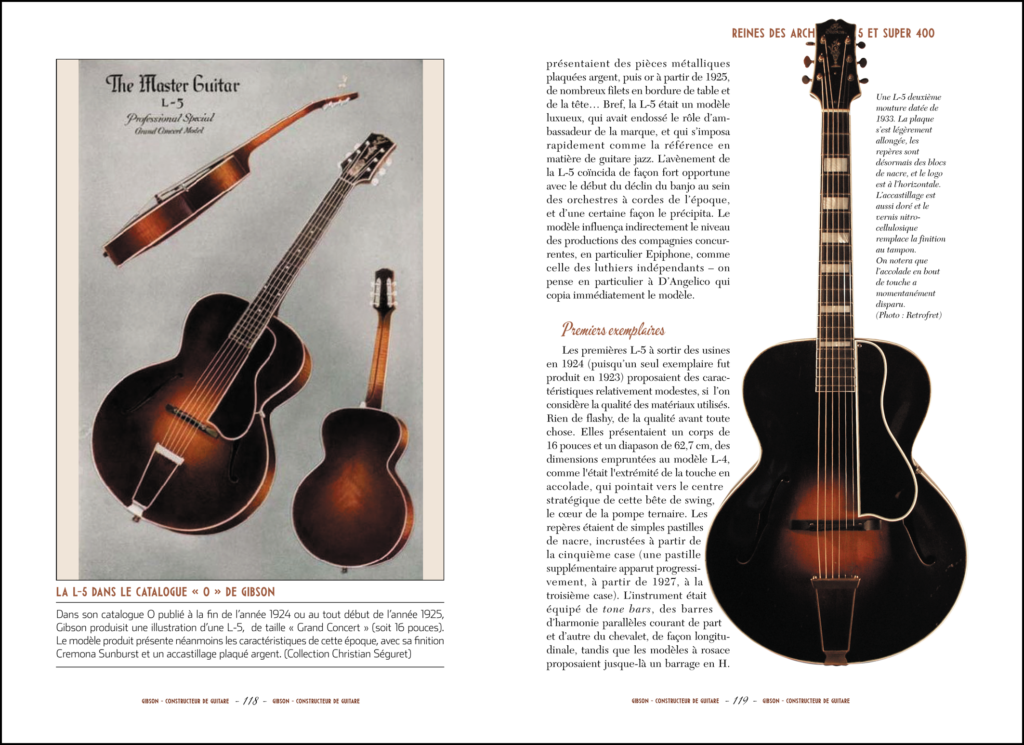 Encyclopédie de la Guitare-T2-Gibson Acoustiques-GAELIS Editions-Christian Séguret-Annabel Peyrard-Interieur2
