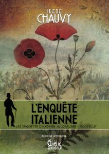 L'Enquête italienne-Nouvelle-Pilote des Enquêtes d'Hadrien Allonfleur par Irène Chauvy - Gaelis Éditions