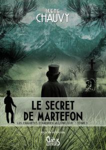 Le Secret de Martefon-Irène Chauvy-Couverture Poche-Editions Gaelis