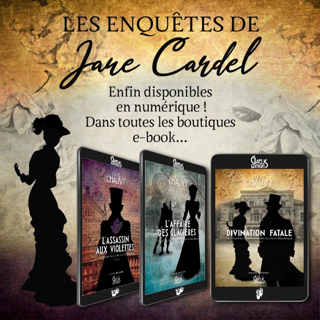 Les Enquêtes de Jane Cardel-Irène Chauvy-Ebook-Gaelis Editions