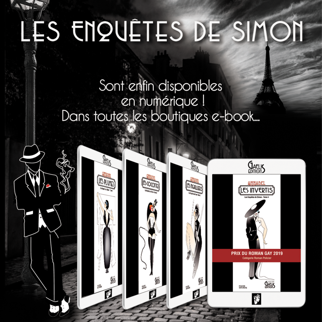 Les Enquêtes de Simon en livres numériques