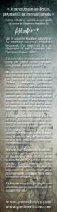 Marque-Page-Les Enquêtes d'Hadrien Allonfleur-Irène Chauvy-Gaelis Editions-V