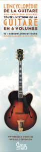 Marque-page-Encyclopédie de la Guitare-Tome 2 Gibson Acoustiques-Christian Séguret-Gaelis Editions-R