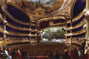 Théâtre_de_l'Académie_royale_de_musique-Grande_salle-Emma_Livry-article Irène Chauvy-Gaelis Editions