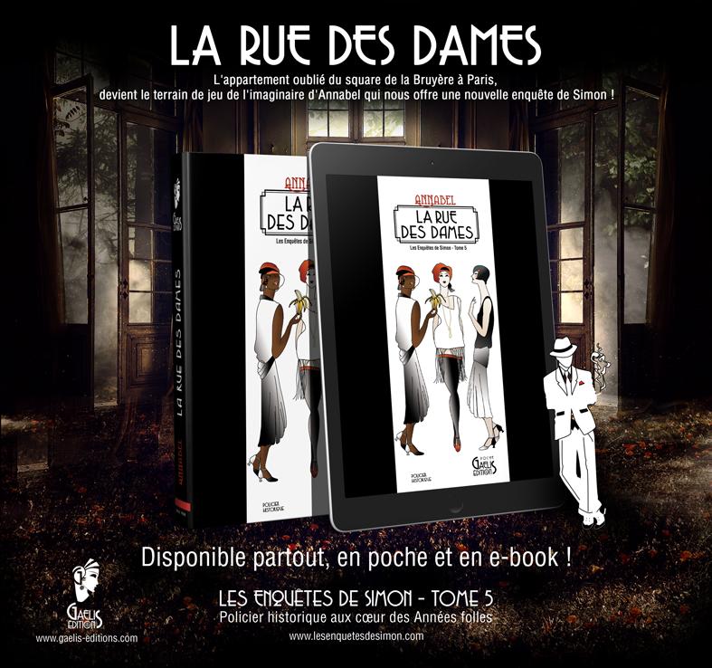 La Rue des Dames-Annabel-Tome 5 des Enquêtes de Simon-Gaelis Editions