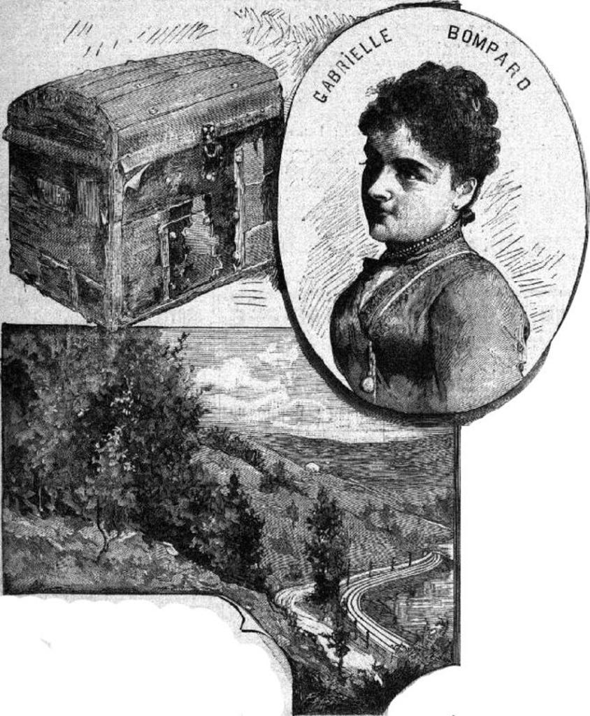 Article Irène Chauvy-Au bagne des femmes (Clermont dans l'Oise)-Malle sanglante-Bompard-Gaelis Editions