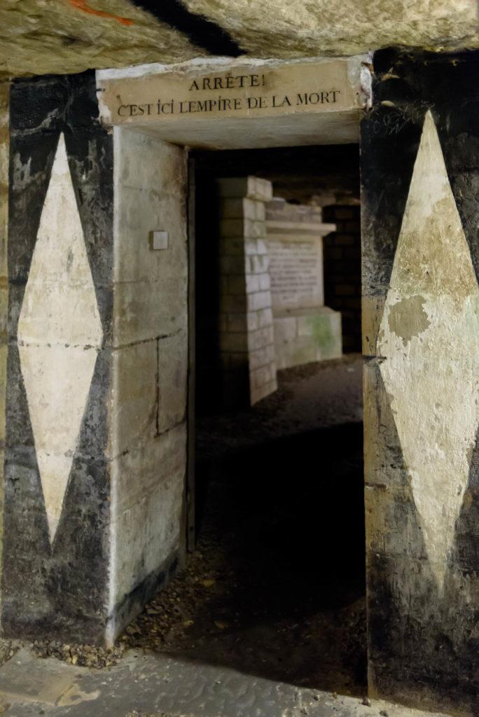 Entrée Catacombes Paris-Gaelis Éditions